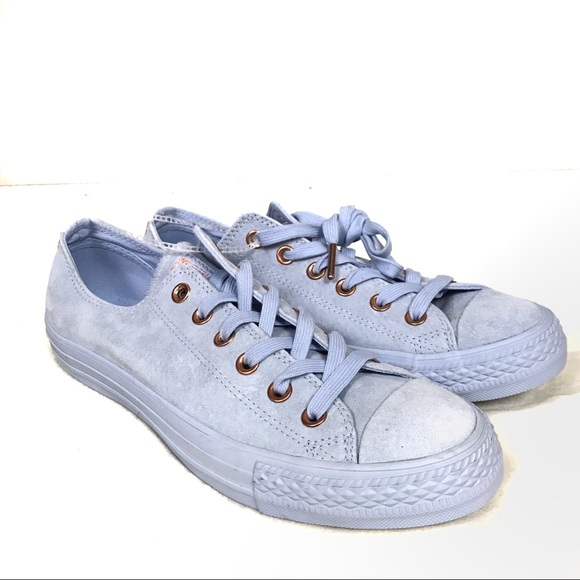 1f91a77d113b NWT converse all star light blue suede shoes